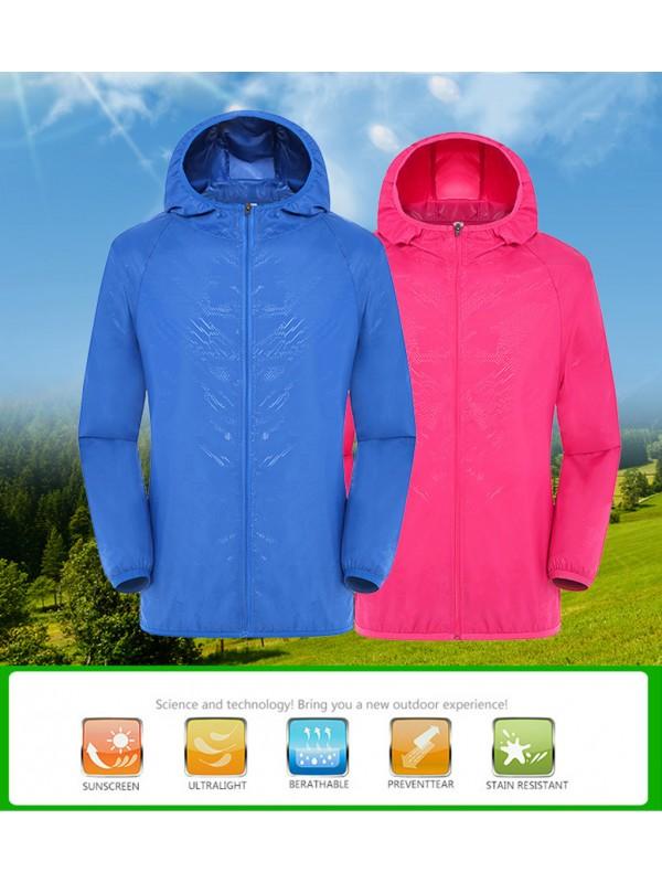 Hooded Jackets Windproof Windbreaker