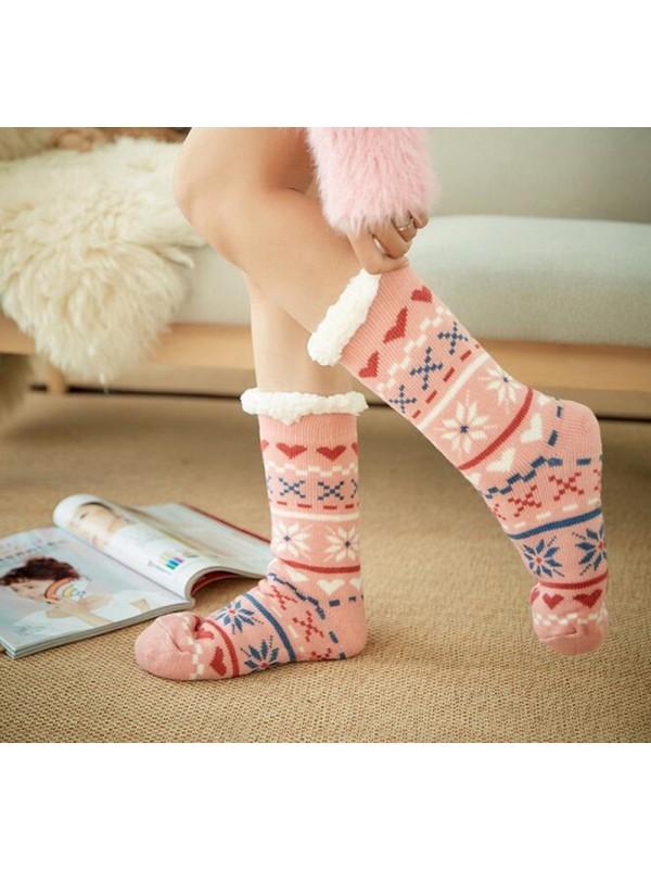 Non-Slip Thickening Home Socks
