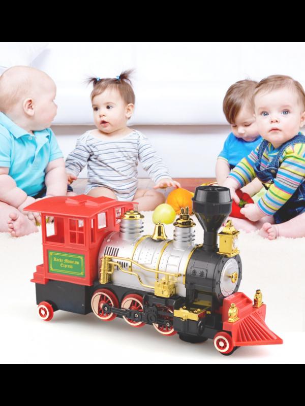 Steam Blowing Train