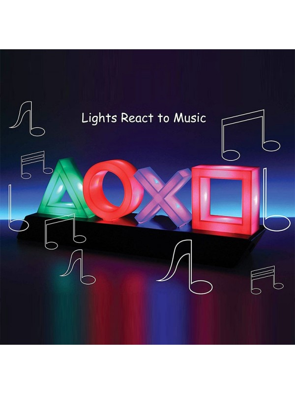 Colorful Voice Control Game Icon Light