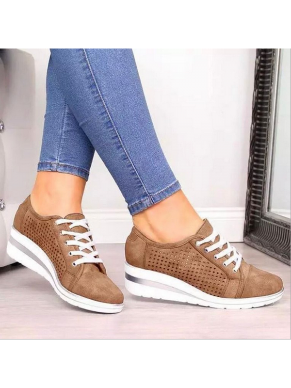 Women's Casual Shoes Lace-up Sneakers