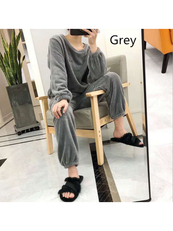 Home Lazy Pajamas Suit Loose And Casual