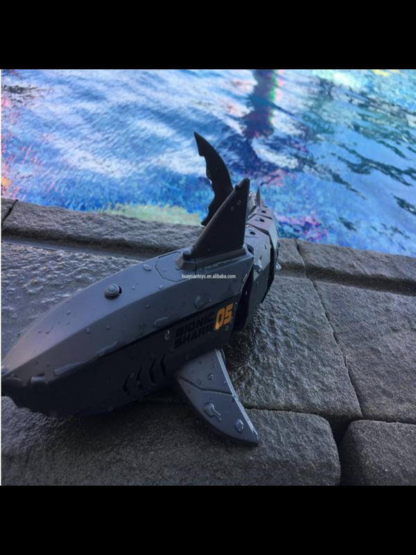 2.4G 4CH Waterproof RC Shark Toy