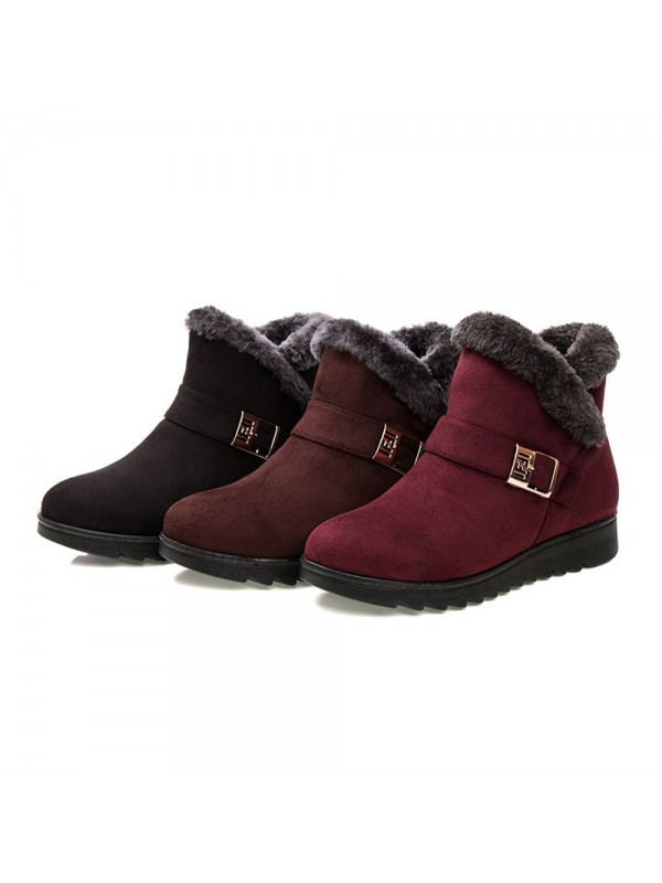 Winter Cotton Cloth Shoes Women Snow Boots