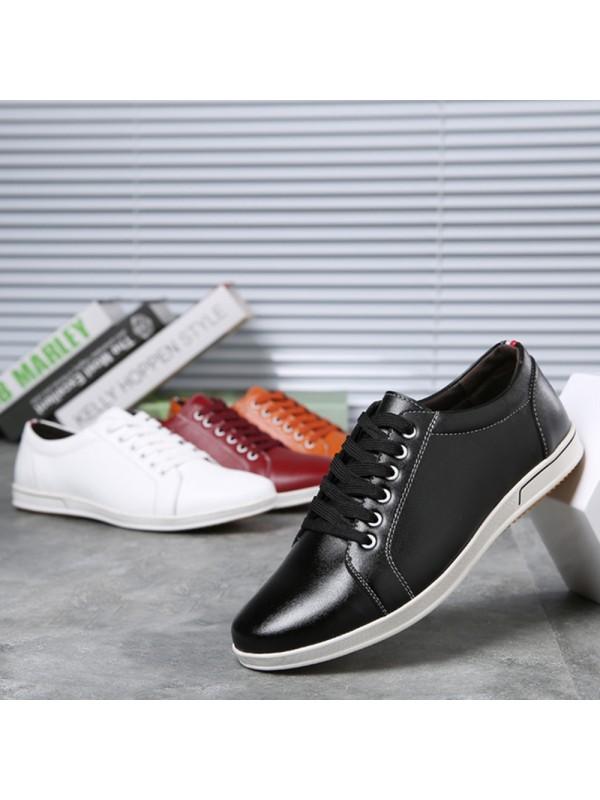 Men Flats Slip Casual Shoes