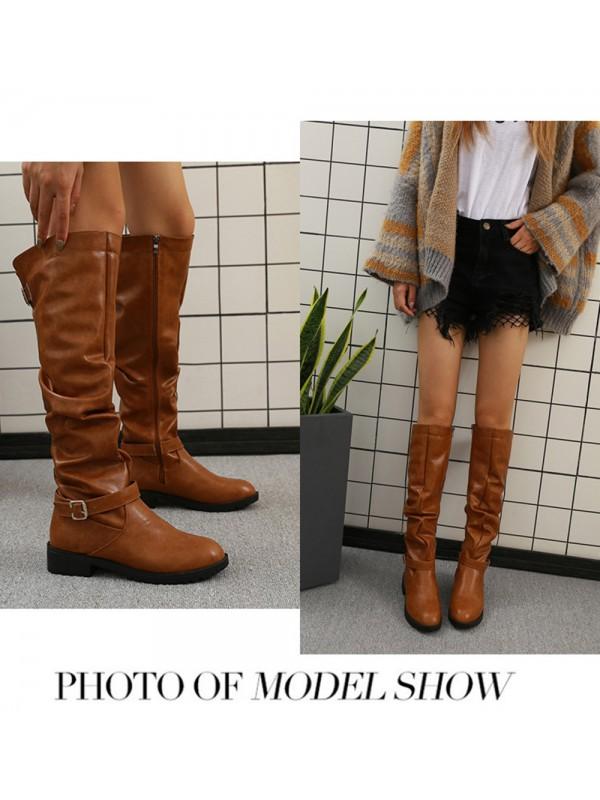 Winter Women Knee-high Long Boots