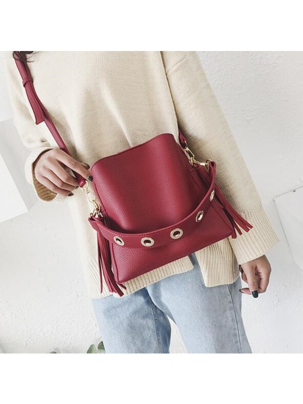 Fashion Single Shoulder Bucket Bag