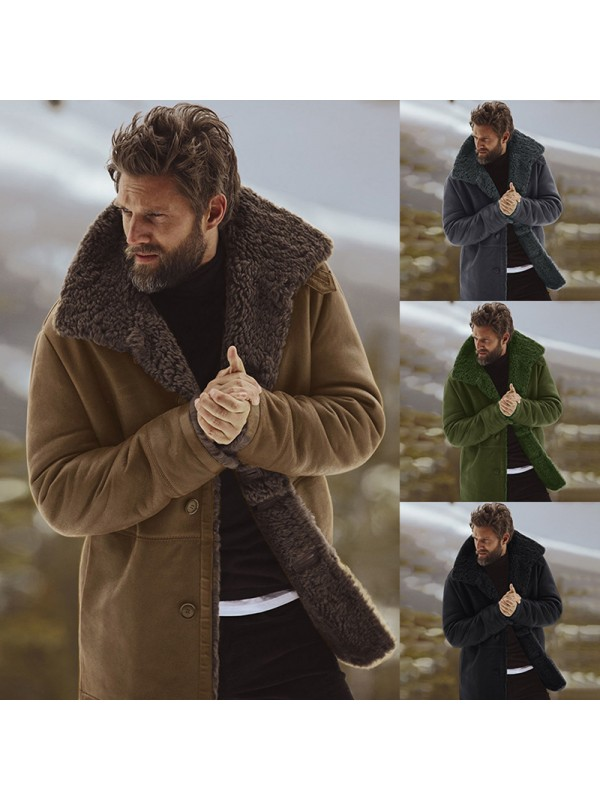 Winter Thick Warm Jacket Men Coat