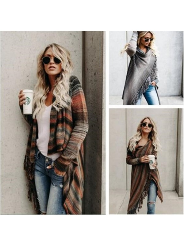 Women's Oversize Cross Over Cardigan