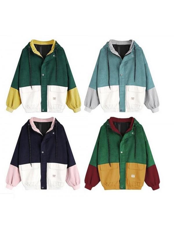 Retro Oversized Ladies Jacket