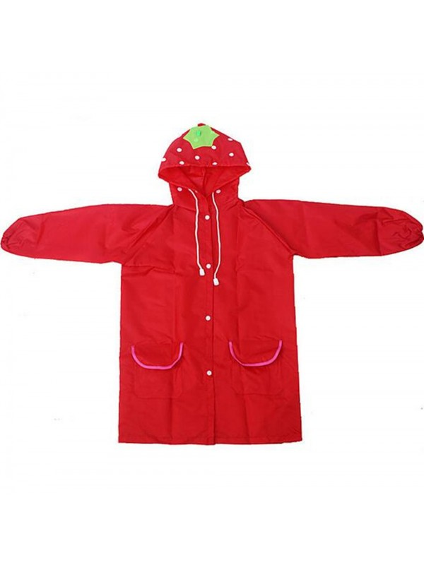 Children Cartoon Waterproof Hooded Rain Coat