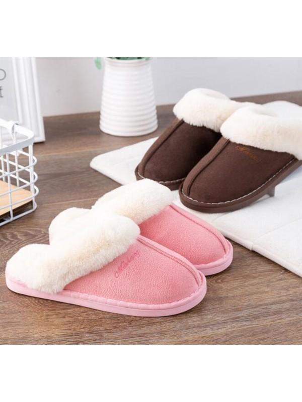 Women Home Non-Slip Cotton Slippers