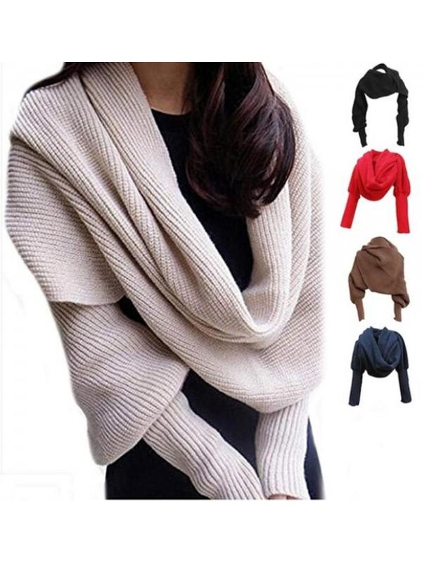 Unisex Fashion Knitted Scarf