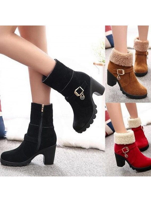 Warm Christmas Winter Boots