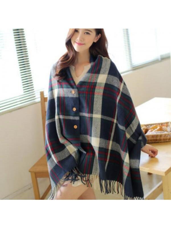Bohemian Blanket Scarf Shawl