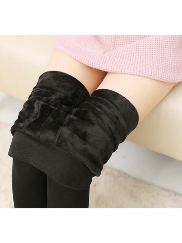 Women High Elasticity Warm Leggings
