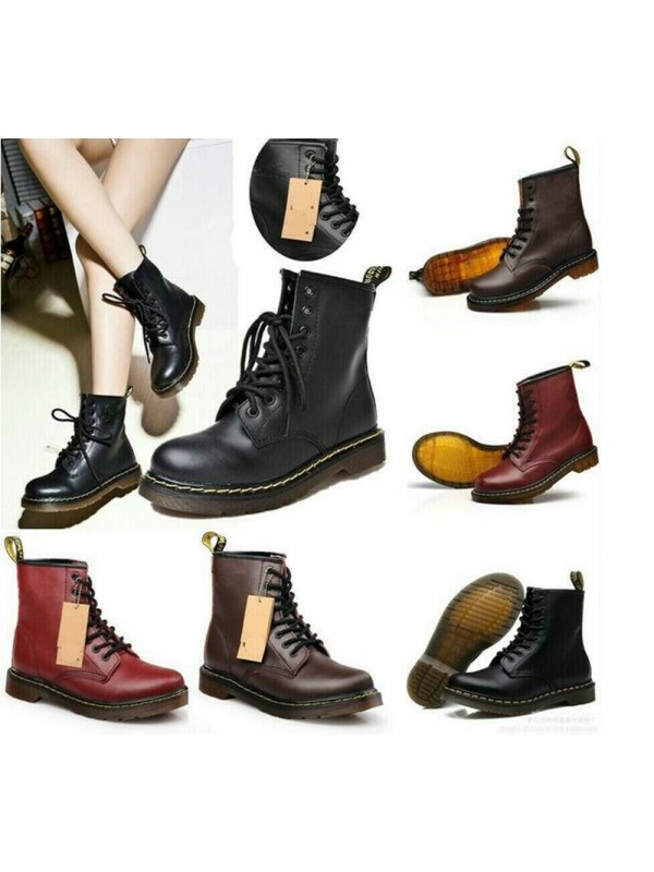 Women Ankle Martin Boots