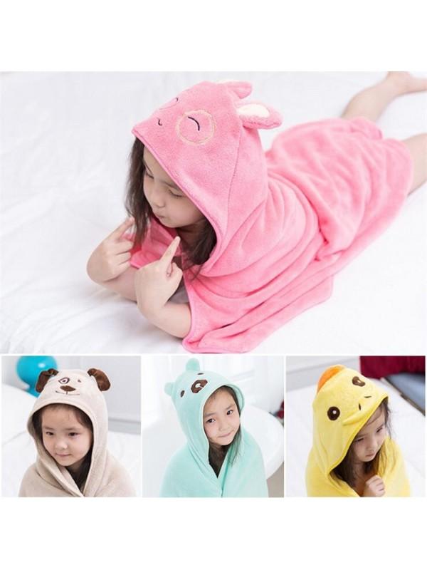 Bath Blanket Kids Towel Hoodie