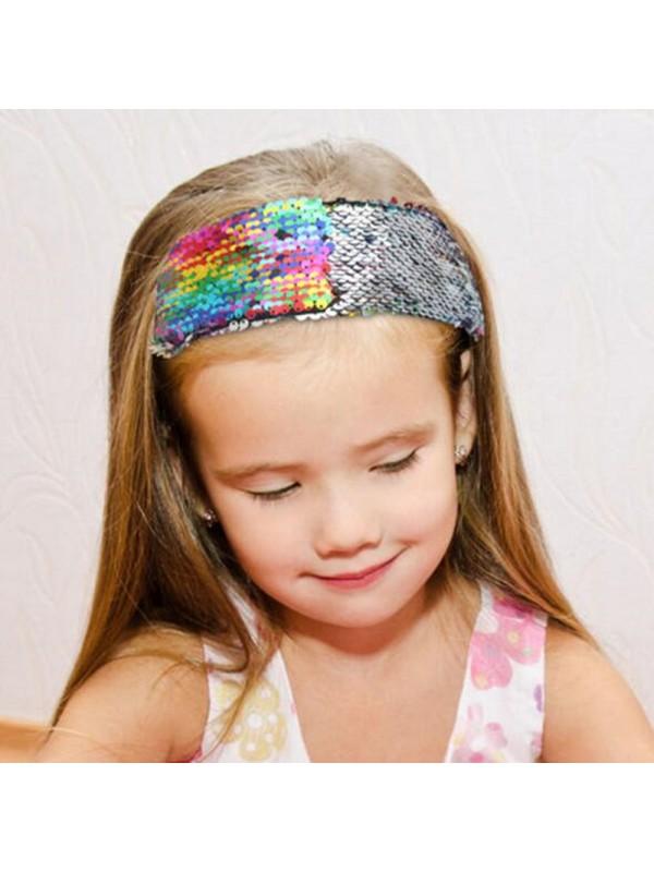 Women Magic Reversible Sequins Headbands