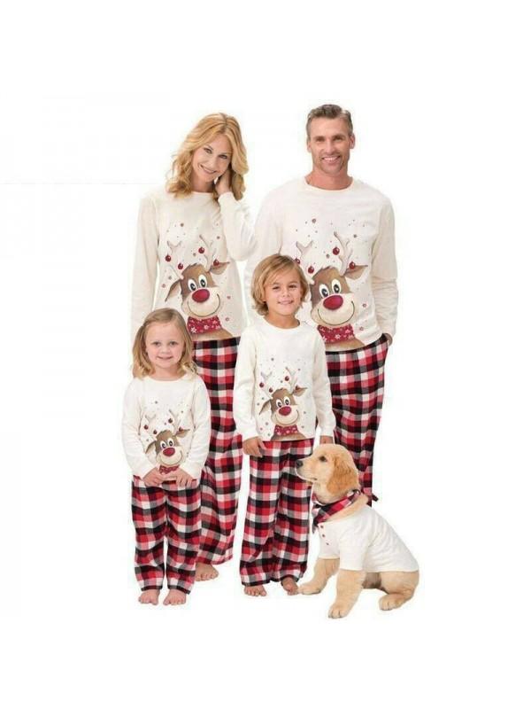 Family Christmas Pyjamas Nightwear Set