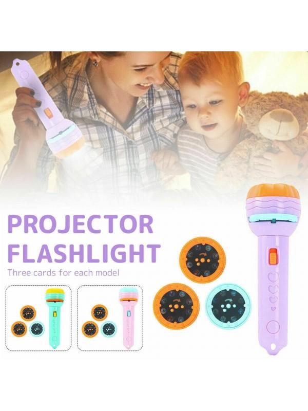 Projection Flashlight Luminous Toy Lamp