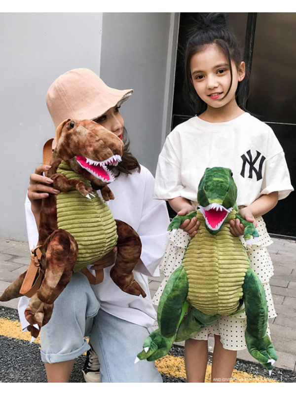 Dinosaur Cartoon Plush Toys Backpack