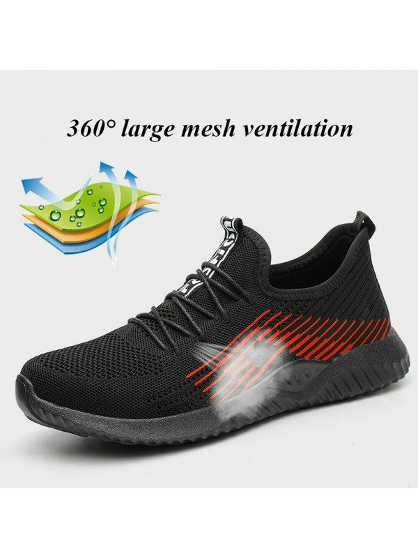 Men Lightweight Safety Sports Shoes