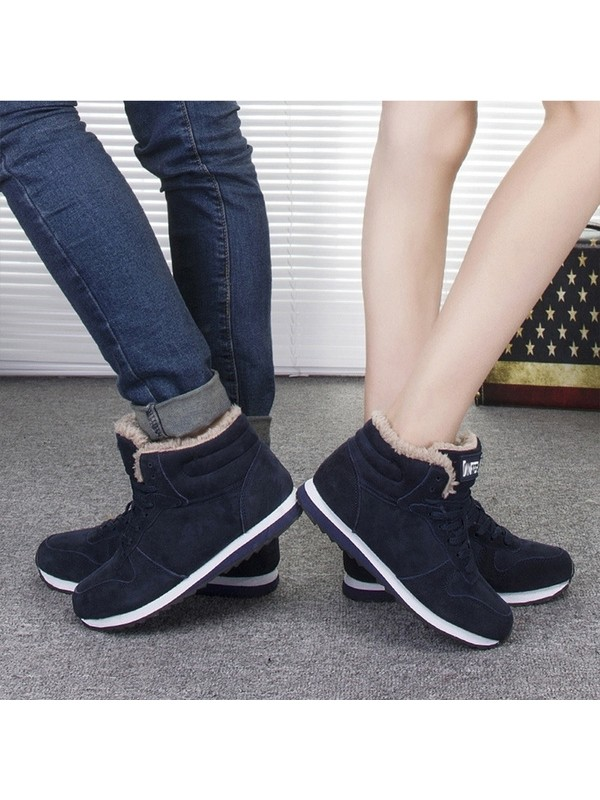 Men Women Winter Fashion Plush Shoes
