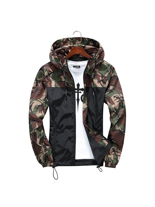 Men's Outdoor Camouflage Jacket