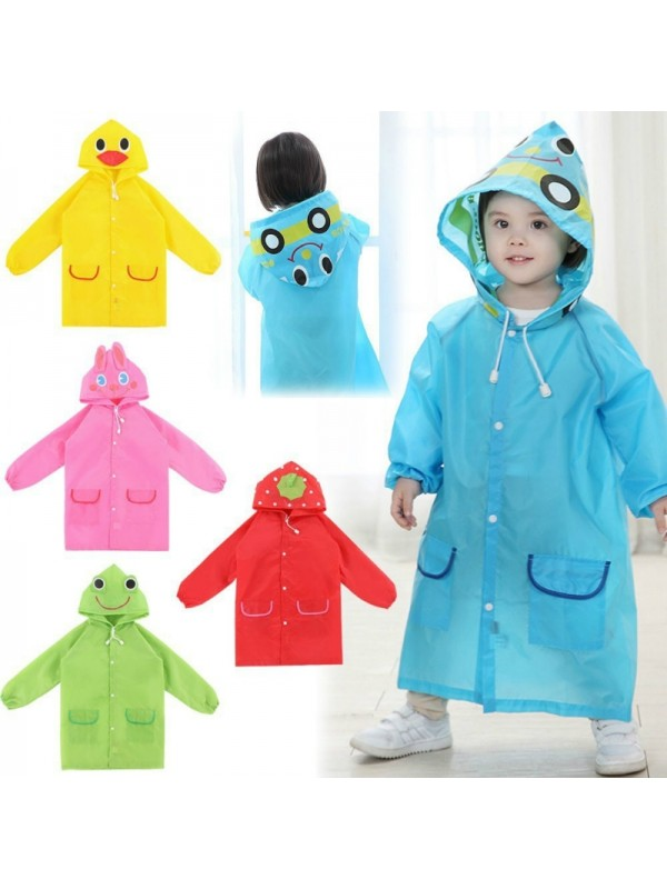 Animal Style Cartoon Waterproof Raincoat