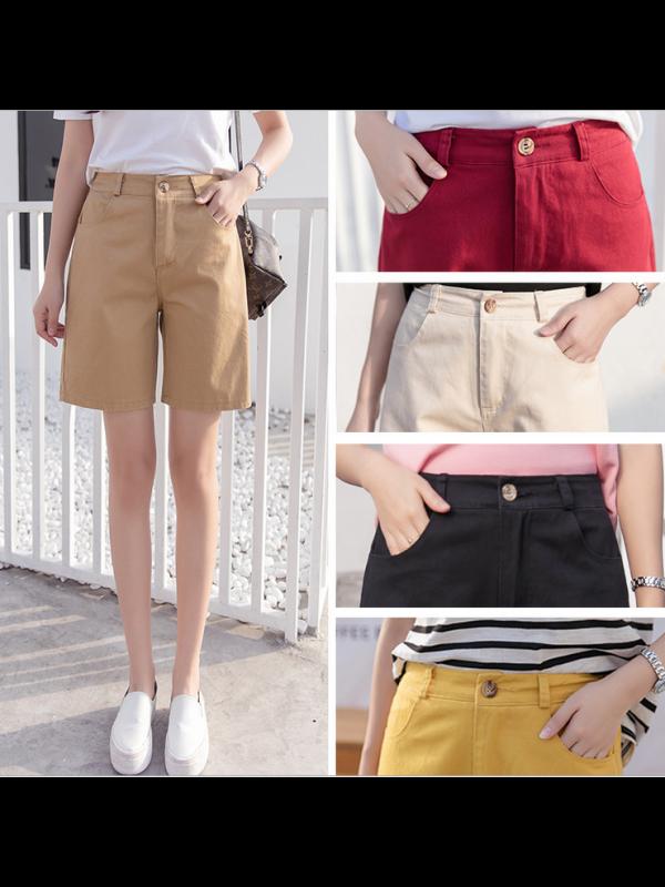 Women's Summer Color Shorts