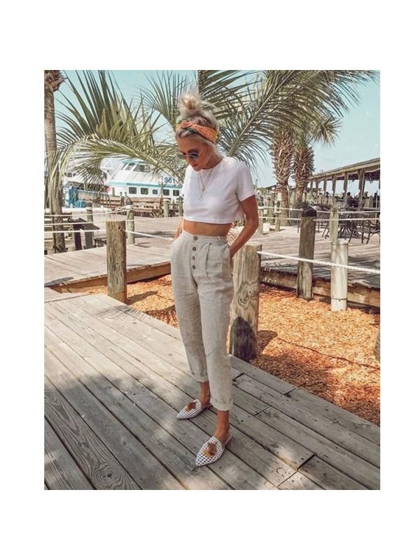 Women's Fashion Casual Trousers
