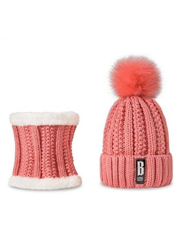 Winter Hat & Scarf Set For Women