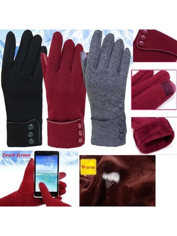 Women's Warm Touch Screen Gloves