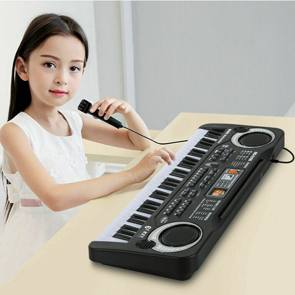 61 Keys Digital Music Electronic Keyboard