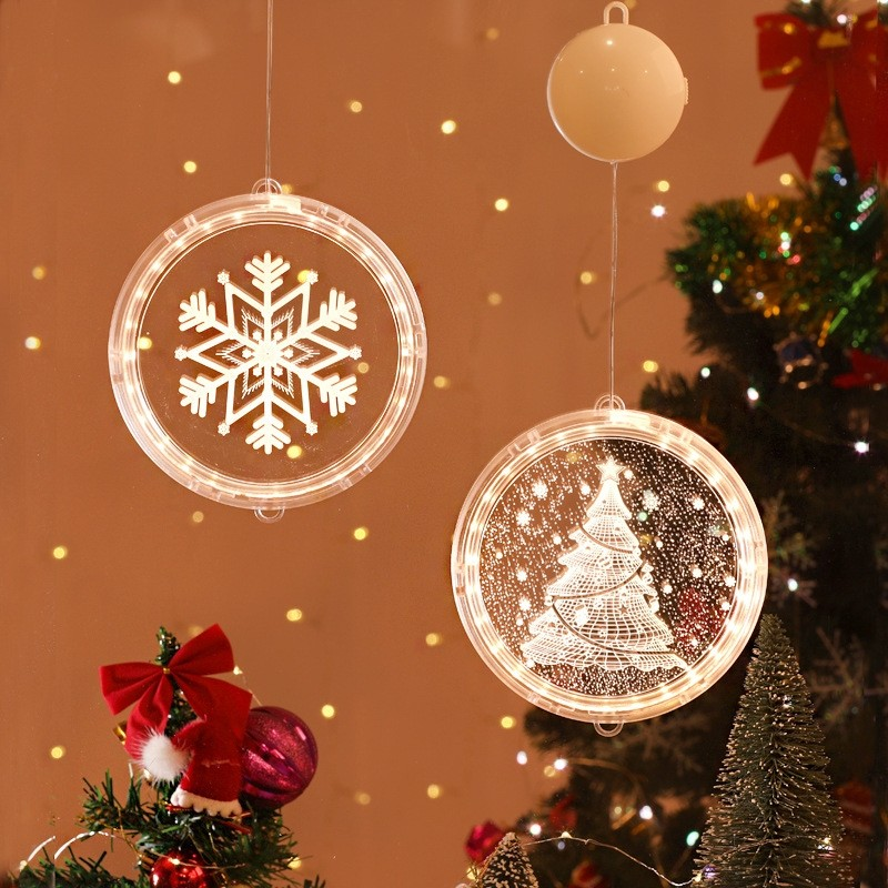 3D Hanging LED Decoration Lights Holiday Christmas Lights